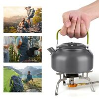 800ML Outdoor Camping Ultralight Hiking Portable Teapot Kettle Coffee Tableware
