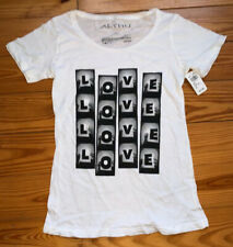 Women's Altru Reel Love White Tshirt from Delia's NWT
