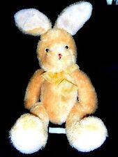 HUGE EASTER BUNNY RABBIT Plush Toy By Carlton Cards (25 INCHES)
