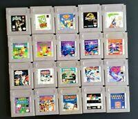 Original Nintendo Gameboy GBA SP Games ~ Pick & Choose What You Need ~ Have Fun