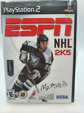 SEGA Sports ESPN NHL 2K5 PlayStation 2 PS2 Game With/Without Manual TESTED Z21