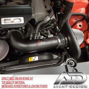 2015-2017 FOR FORD MUSTANG GT 5.0L 5.0 V8 AF DYNAMIC COLD AIR INTAKE HEATSHIELD