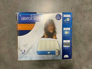 Aerobed Classic Twin 9 IN Height Air Mattress with Handheld Pump | DMG Box 1