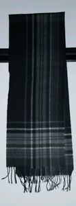 Gray Plaid Unisex Acrylic Scarf by Merona from Target -- New Without Tags