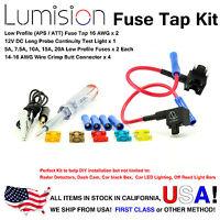 Add-A-Circuit Dual Low Profile ATT APS Fuse Tap Kit Dash Cam Radar Install Pack
