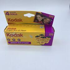 Kodak Gold 200 24 Exp  Color Print Film Vintage Expired 6/2007, New Unopened