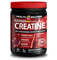 Preworkout powder GERMAN CREATINE MONOHYDRATE 300g For bodybuilding Men/Women-1B