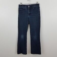 not your daughters jeans nydj dark wash bling 6P petite bootcut stretch
