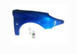 Peugeot 206 KMF Blue recife Kotlfügel Bj. 98-09 Neu Rechts +50ml Gratis