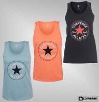 Ladies Converse Lightweight Round Neck Sleeveless CP Tank Top Sizes from 8 to 14