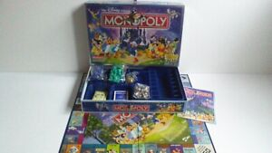 New Contents Sealed Waddingtons Monopoly Disney Special Edition Board Game