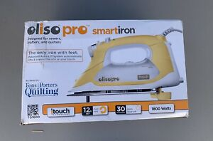 Oliso TG1600 PRO 1800W Smart Iron with  iTouch Technology Butterscotch New