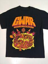 Gwar T-shirt Orgasmageddon Gory Horror Rock Band Monster Metal Medium