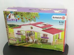 Schleich 42344 Horse Barn Stable Play Set Instructions Incomplete Preowned