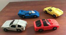 Hasbro Transformers Vintage Robot Takara Micromaster 4 Car Lot EXCELLENT CONDITI