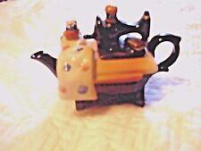 Sewing Machine Tea Pot Small Size