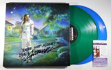 ANDREW WK SIGNED YOU'RE NOT ALONE 2xLP COLOR VINYL RECORD ALBUM PARTY +JSA COA