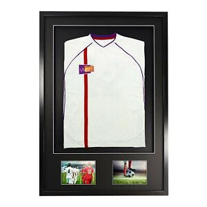 Vivarti Adult 3D Mounted + Double Aperture Sports Shirt Frame Kit Football Rugby