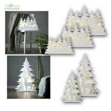 Large Wood Stand, LED Christmas Lights,5 Motifs,For IN Outdoor IP44