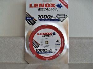 """Lenox Metal Max Diamond Edge High Speed Die Grinder Cut Off Wheel 4"""" x 3/8"""""""