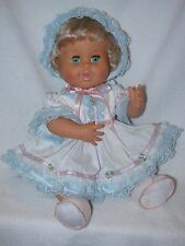 "1989 Ideal/Tyco Toys Rub A Dub Dolly 16"" Baby Doll"