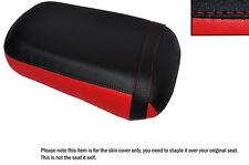 Brillante Rojo Y Negro Custom encaja Honda Vtx 1800 02-04 Trasera de piel cubierta de asiento