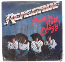 SEALED RENEGADE: Rock N Roll Crazy LP ALLIED ARTISTS RECORDS AA33354AB US 1983
