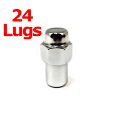 24x Excalibur 8207 Lug Nuts 12x1.50 Chrome Standard Mag