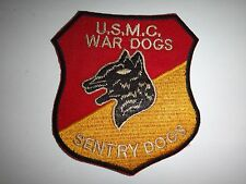 Vietnam War US Marines 1st & 2nd SENTRY DOG Platoons Patch