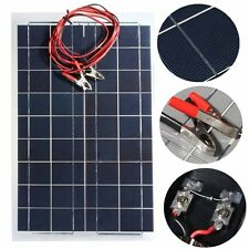30W 12V Semi Flexible Solar Panel Device Battery Charger NEW