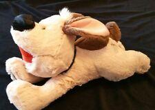 "DISNEY STORE 14"" Plush MULAN Large LITTLE BROTHER Dog Stuffed Animal Toy"