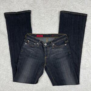 Adriano Goldschmied Jeans 26 R The Angel AG Flare Boot Cut Denim Dark Wash GUC