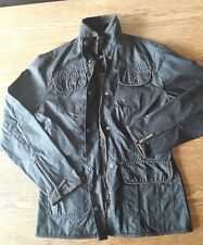 Donna Nuovo di Zecca Barbour Utility Jacket Coat. RRP £ 225, sylkoil marrone.