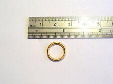 New Gold SEGMENT Seamless Hoop Ring 14 gauge 14g 10mm