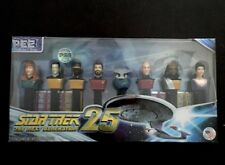 Star Trek The Next Generation 25th Anniversary PEZ Candy Limited Collectors Set