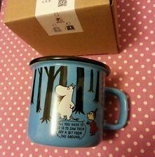Moomin Valley Characters Moomin Little My Dark Blue  9  x 8 cm Coffee Mug