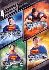 Superman 1, 2, 3 & 4 DVD 4 Film Favorites R4