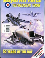 Royal Air Force Yearbook 1988 Magazine EX No ML 112616jhe