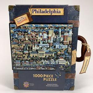 Eric Dowdle Explore America Philadelphia 1000pc Puzzle Americana Gift Gallery