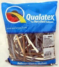 Qualatex Balloons Character Assortment 100 Count Animal Twist Size 260 Balloon