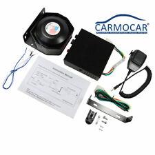 8 Sound 200W Loud Car Warning Alarm Police Fire Siren Horn PA Speaker