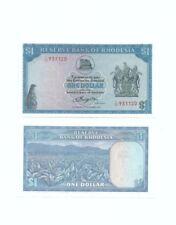 Reserve Bank Rhodesia $1 UNC
