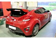 Rear Wing Spoiler FRP Unpainted For Hyundai Veloster Turbo 2012 2014