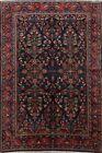 Excellent Semi Antique Lilihan Handmade Area Rug All-Over Oriental Carpet 5x7
