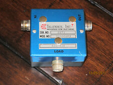Telewave Isolator Circulator 650 - 810 MHz Tunable >30 dB Isolation 150 Watt