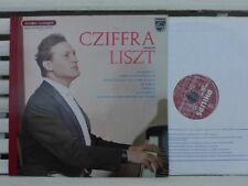 LISZT: Piano recital (Polonaise, Tarentelle...) >  Cziffra / Philips France LP