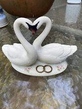 Giuseppe Armani Wedding Figurine Porcelain Cake Topper Rings Of Love 1459S