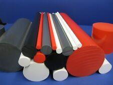 PVC-U Kunststoffstab auf Zuschnitt 25cm PVC Rundstab grau /Ø 50mm L: 250mm