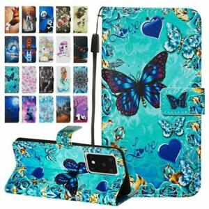 For Motorola Moto G Stylus 5G Patterned Wallet Flip Leather Stand Case Cover