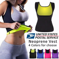 Women Body Hot Vest Slimming Reducer Vest Shirt Underbust Sauna Shaper Cami Top